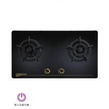 金綻系列-高熱效二口玻璃檯面爐 | TG-8503G