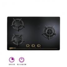 金綻系列-高熱效三口玻璃檯面爐 | TG-8533G