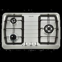 G-2830KS 三口防乾燒節能檯面爐