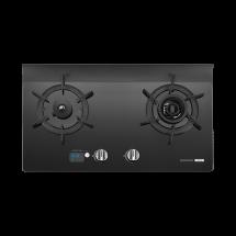 G2926G 智能雙炫火二口玻璃檯面爐