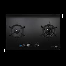 G2928G 智能雙炫火二口玻璃檯面爐